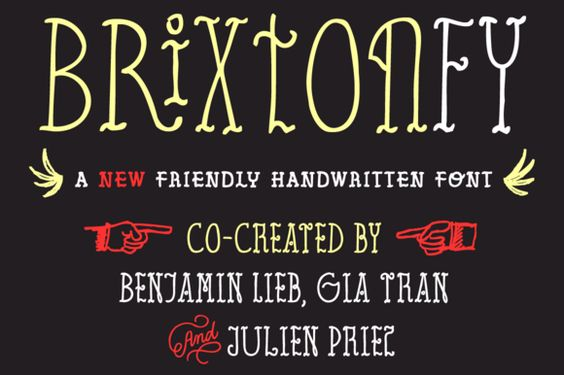Brixton FY Family (5fonts) by FONTYOU on @creativemarket
