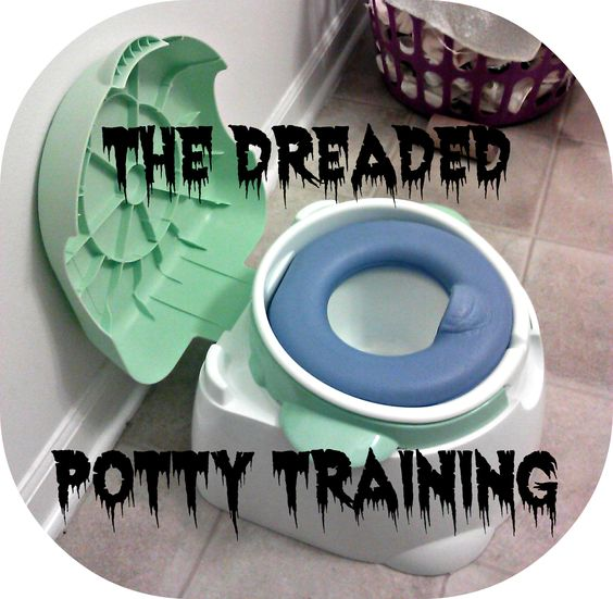 Mixed Bag Mama: The Dreaded Potty Training