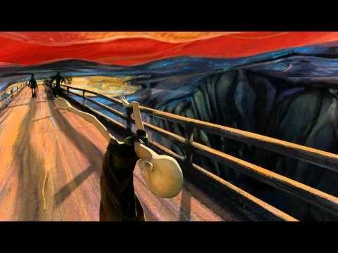 """The Scream (Animated)  Kunst of Kitsch? 'De schreeuw' als animatie. De inspiratie voor de tekst en toepasselijke muziek is gehaald uit het nummer'The Great Gig in the Sky'van Pink Floyd. Aan het begin van dat nummer hoor je een mannelijke stem zeggen: """"And I am not frightened of dying. Any time will do; I don't mind. Why should I be frightened of dying? There's no reason for it—you've gotta go sometime"""".  http://videovolt.net/2012/03/01/16678/"""