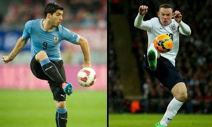 Google+ Uruguay vs Inglaterra, Brasil Mundial 2014