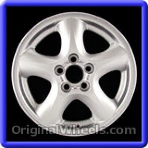 Ford Taurus 2000 Wheels & Rims Hollander #3384A  #FordTaurus #Ford #Taurus #2000 #Wheels #Rims #Stock #Factory #Original #OEM #OE #Steel #Alloy #Used