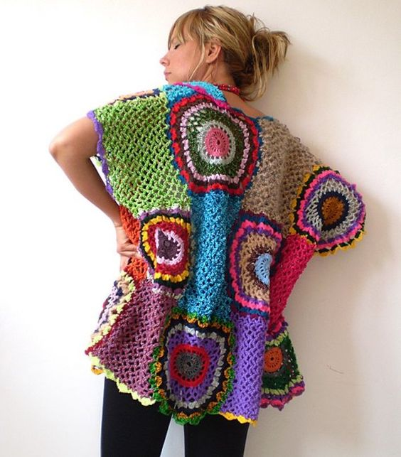 Crochet Stitches Multicolor : ... crochet crochet clothes crochet patterns size multicolor multicolor