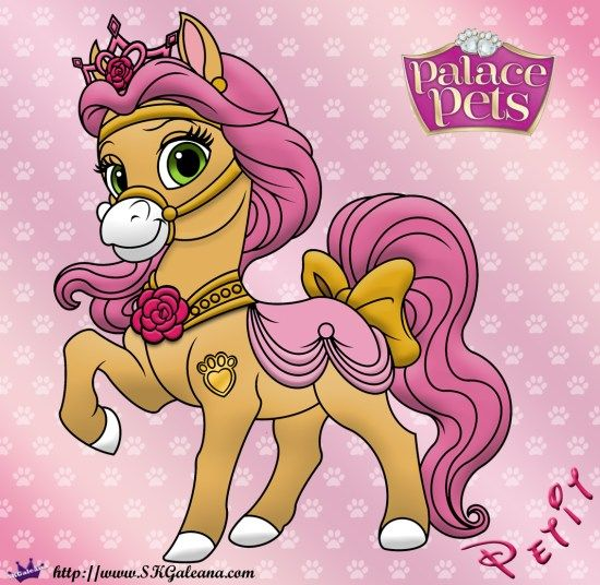 Free Coloring Page Featuring Petit From Disney S Princess Palace Pets Palace Pets Princess Palace Pets Disney Princess Pets