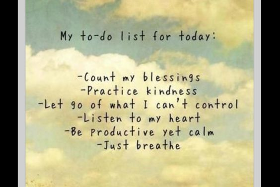 To do .....