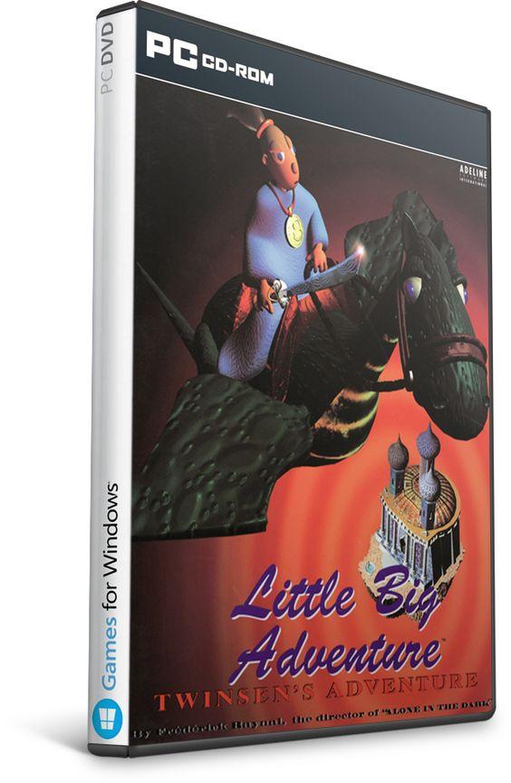 imagen Little Big Adventure Enhanced Edition [2015] [Español/Multi]