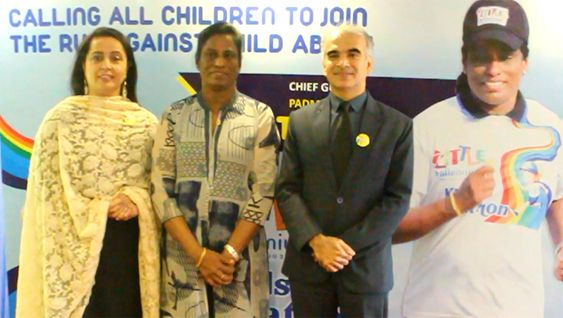Veteran Athelete P.T.Usha Supports Little Millennium's Kids Marathon Press Meet