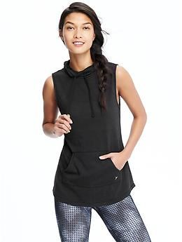 Sleeveless Hoodie Female
