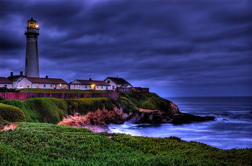Pigeon Point Lighthouse CA: