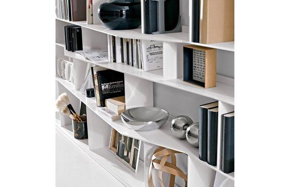 Bu0026B Italia Bookcase: Floating Cabinet With Shelves | Furniture: Shelving  Etc | Pinterest | Floating Cabinets, Shelving And Shelves