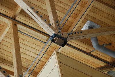 Steel Trusses Steel And Woods On Pinterest