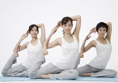 Yoga is a natural way to keep your body and mind healthy.It is believed that they help control aging and help to maintain a healthy glow by stimulating the circulation and relaxing your muscles.