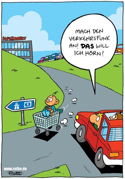 Verkehrsfunk anstellen!!!