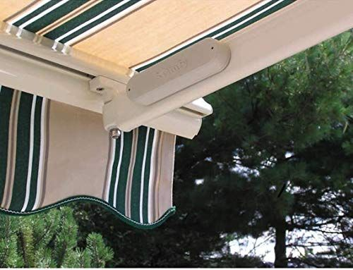 New Sunsetter Wireless Wind Sensor Perfect For All Sunsetter Motorized Awnings Automatically Closes Awning In Windy Days You Set The Sensitivity Battery Pow
