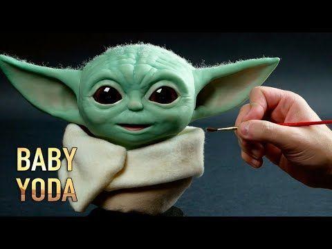 Baby Yoda Sculpture Timelapse The Mandalorian Youtube Yoda Avatar Baby Doll Star Wars Baby