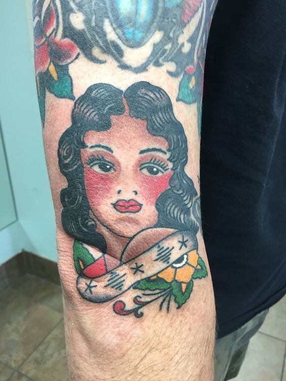Fun Sailor Jerry piece from a couple weeks ago.