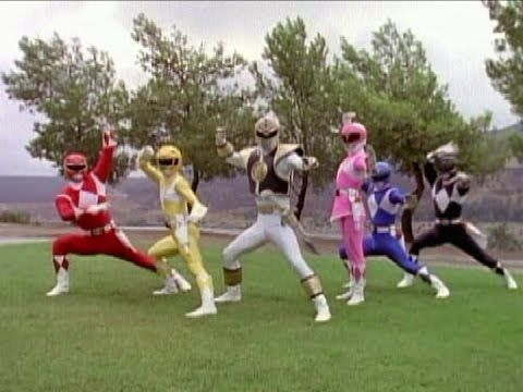 Mighty Morphin Power Rangers - All Morphs (Season 2)