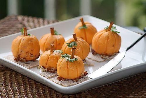 Pumpkin cheeses!
