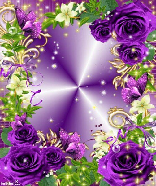 Purple Rose Frame Purple, The o'jays and...