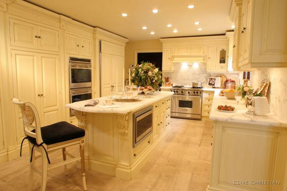 clive christian kitchens | Natural Clive Christian Kitchen listed in: Faux Painting for Kitchen ...