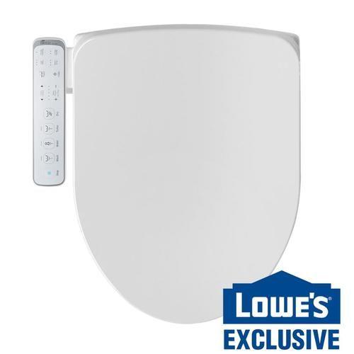 Bio Bidet Lw 1000 Elongated Smart Bidet Toilet Seat In White At