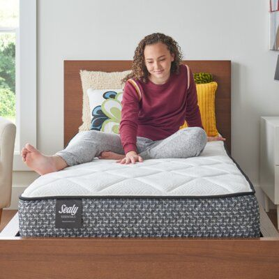 null This product goes beyond basic, delivering the quality, support and comfort you expect from Sealy at an affordable price. Our innerspring mattresses offer exceptional full-body support with ease of movement, for that sleep-on-top feeling and the comfort you want. At the heart of every Sealy mattress is the support that's right for you. In every mattress we make, Sealy combines smart innovation, precise engineering, and industry-leading testing to ensure quality and durability. You can trust
