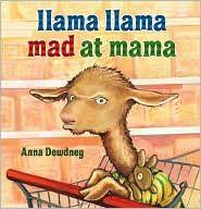 Llama Llama mad at Mama - shopping at the shop-o-rama....   I LOVE this book -- always makes me smile.