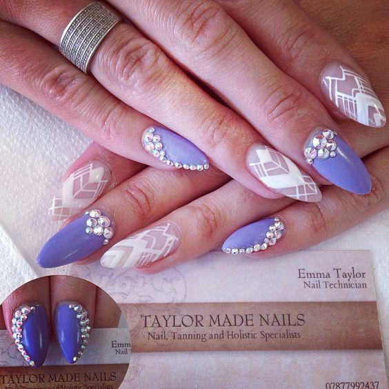 Crazy bright summer nail art