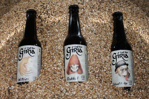 Gíria - craft beer cerveja artesanal portuguesa feita em Mirandela - Witbier  - Dubbel - Robust Porter