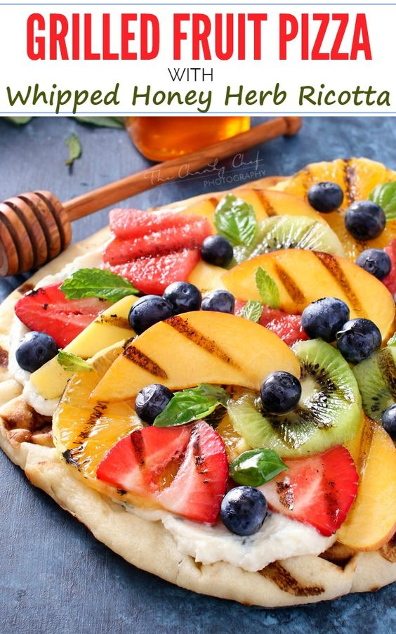 pizza grilled and more honey fruit pizzas pizza fresh herbs herbs ...