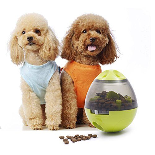 Generic Interactive Dog Toy Food Dispenser Ball Toy For Small Medium Large Dogs Durable Chew Ball Boredom Puzzle Toys Food Slow Feeder Tumbler Iq Treat Ball Interactive Dog Toys Dog Toys