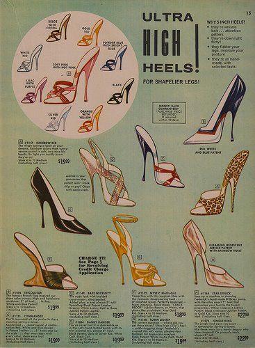 Ultra-high heels! For shapelier legs!