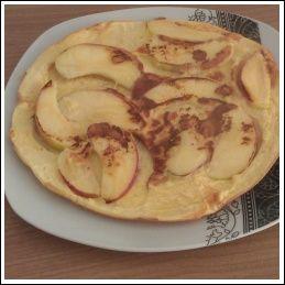 Low Carb Apfelpfannkuchen