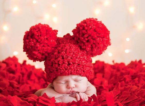 18 Colors Baby Hat Newborn Girl Boy Toddlers Crochet Knit Pom Pom Animal Ear Red Christmas Valentine