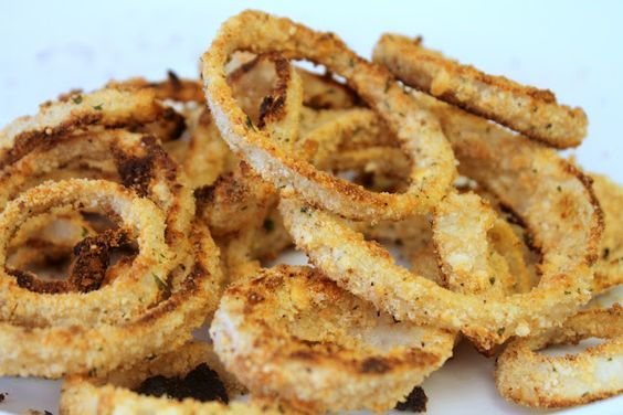 Homemade Baked Onion Rings. Family favorite and gone in minutes.