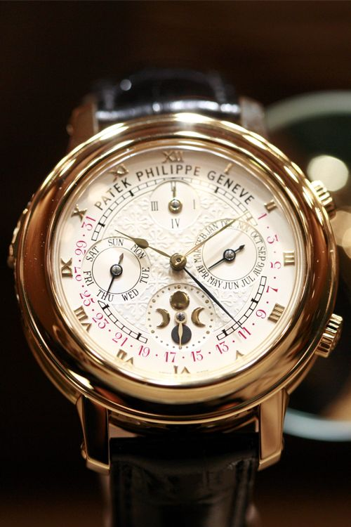 What are some expensive brands of watches?