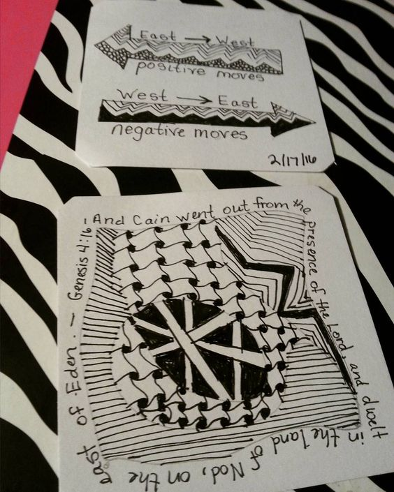 #zentangle pieces to make a small note in a couple of Bibles. #illustratedfaith #biblejournaling by raben76325