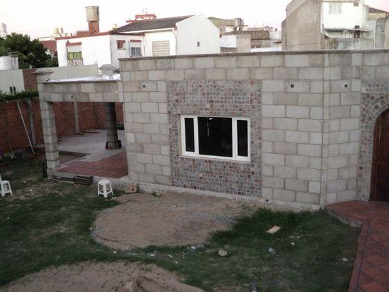 Construccion de viviendas industrializadas con bloques de for Techos de concreto para casas