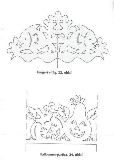 Объемные бумажные модели. Трафареты для вырезания.: