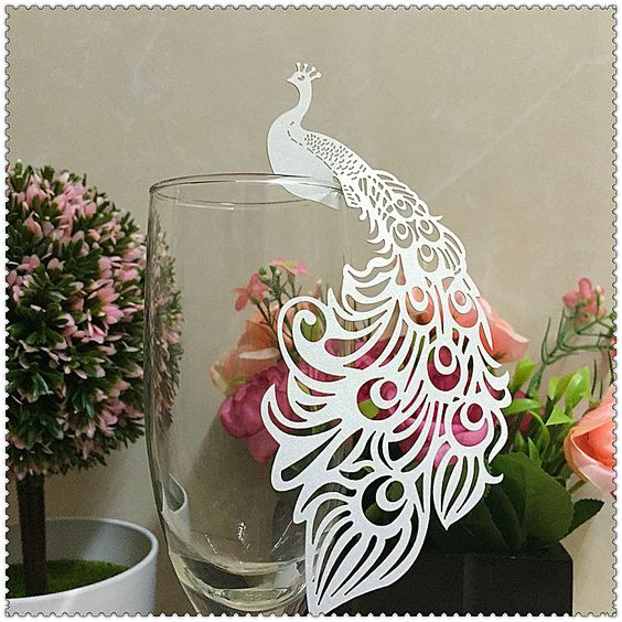 Cheap card record, Buy Quality card scanners for outlook directly from China card butterflies Suppliers:  50pcs Laser Cut Paper Place Card Escort Card Cup Card Wine Glass Card Wedding Decoration Wedding Favors and gifts,weddi