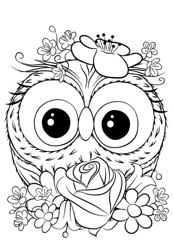 Omeletozeu Owl Coloring Pages Unicorn Coloring Pages Animal Coloring Pages
