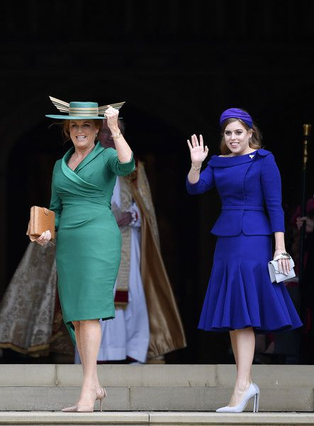 Princess Beatrice  - What Celebrity Guests Wore To Princess Eugenie's Royal Wedding - Photos