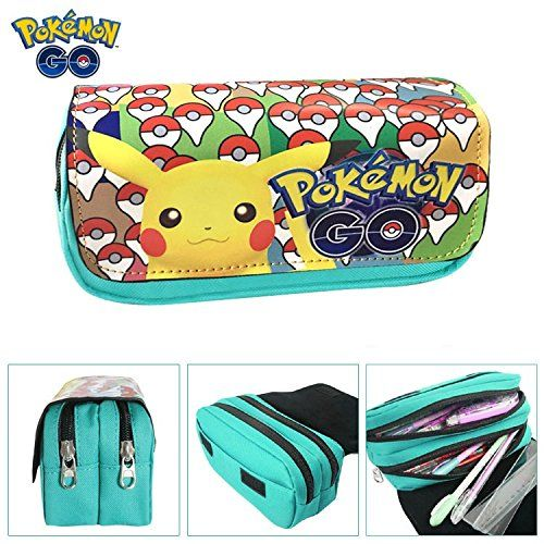 Estuches Material escolar Portatodo doble Pokemon Pikachu…