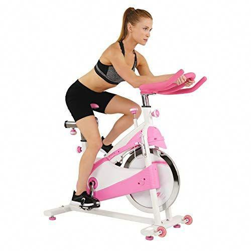 Sunny Health Fitness P8150 Belt Drive Premium Indoor Cycling Bike