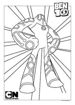 Ben 10 Role Play Diamond Head Toys U0026 Character George Coloring Pages Coloring Books Colorful Drawings