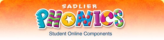 Sadlier-Oxford :: Phonics -- use your knowledge of letters, sounds & words as you try out these games & activities