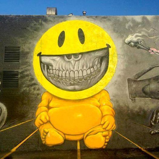 Artwork: Ron English #streetart http://ebay.to/1MkkL4b
