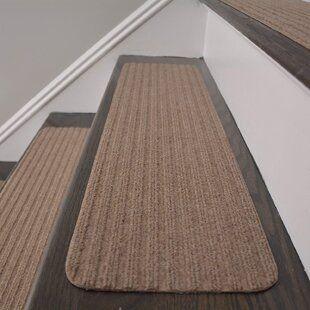 Tucker Murphy Pet Baylis Stair Tread Wayfair Ca In 2020 Stair | Wayfair Carpet Stair Treads | Tucker Murphy | Carpet Runners | Oaks Godinez | Stair Railing | Beige Carpet