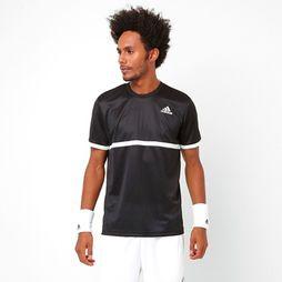 Camiseta Adidas Court - Preto+Branco