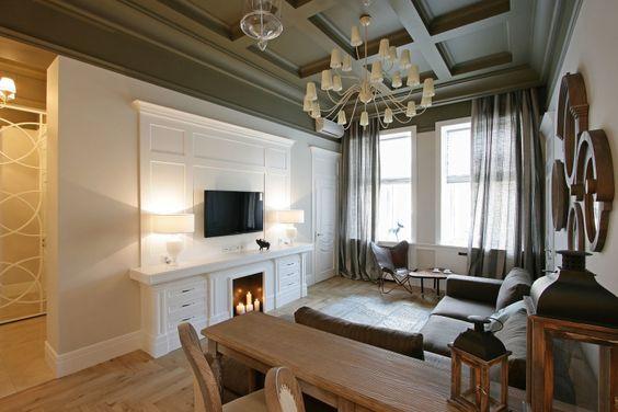 Apartamento em Dnepropetrovsk por Svoya Estúdio