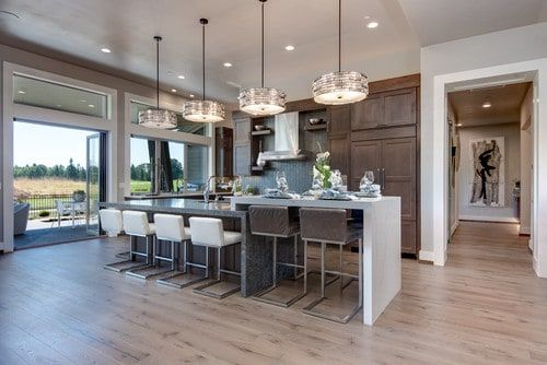 101 Kitchen Islands With Seating For 2 3 4 5 6 And 8 Chairs And Stools Kitchen Island With Seating Open Concept Kitchen Living Room Island With Seating
